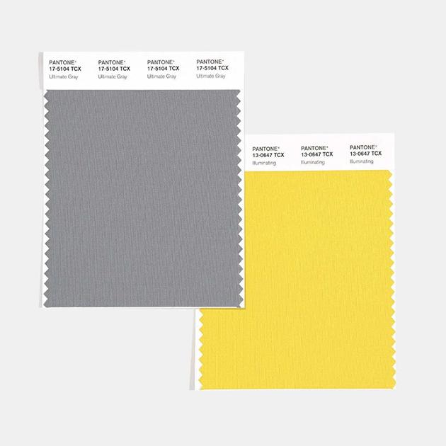 главные цвета 2021 года по версии Pantone