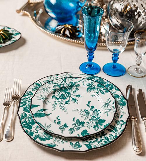 Идея подарка: сервизы флорентийской мануфактуры, столовое серебро и домашний текстиль