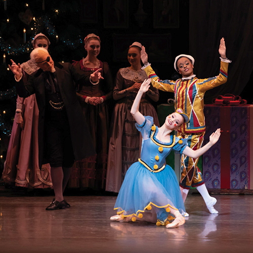 «Щелкунчик» в исполнении New York City Ballet, до 3 января