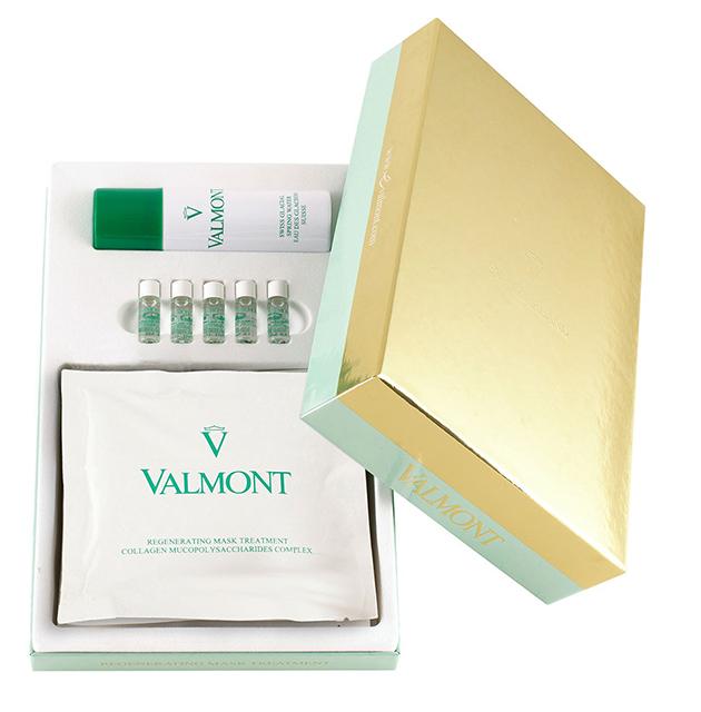 Набор коллагеновых масок для лица Regenerating Mask Treatment, Valmont