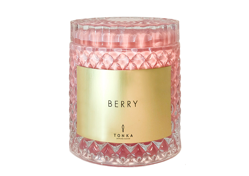Свеча Berry, Tonka Perfumes Moscow