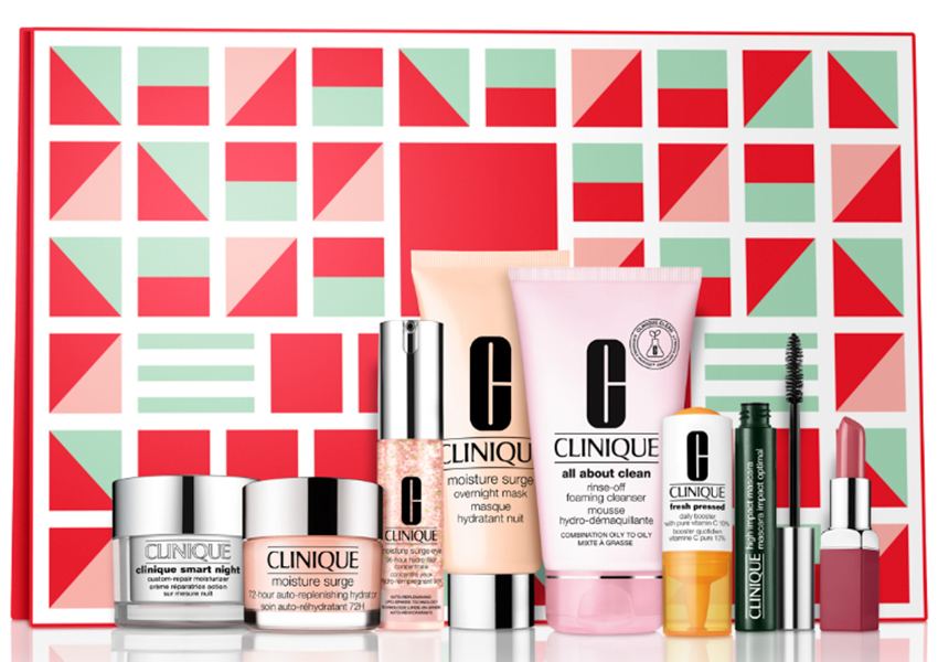 Набор средств макияжа и ухода за кожей лица «Блокбастер», Clinique