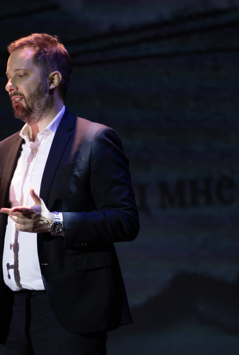 Новый спектакль: Константин Хабенский и Александр Цыпкин представил проект «Интуиция»