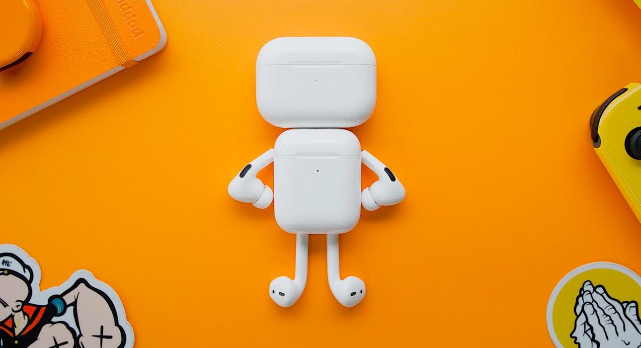Hi-Tech: переключать треки на AirPods можно будет щелчком языка, взмахом головы или прикосновением к лицу