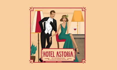 Питер Weekly: «Астория» подвела итоги конкурса для художников на создание серии образов отеля