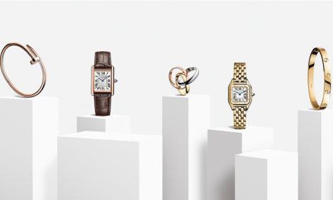 Рекламная кампания Cartier The Cult of Design: легенды прошлого — в свете настоящего