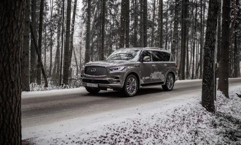 Авто с Яном Коомансом: глэмпинг с Infiniti QX80
