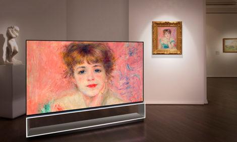 «LG SIGNATURE x Пушкинский музей»: мультимедийная экскурсия и фильм о шедевре Клода Моне «Завтрак на траве»
