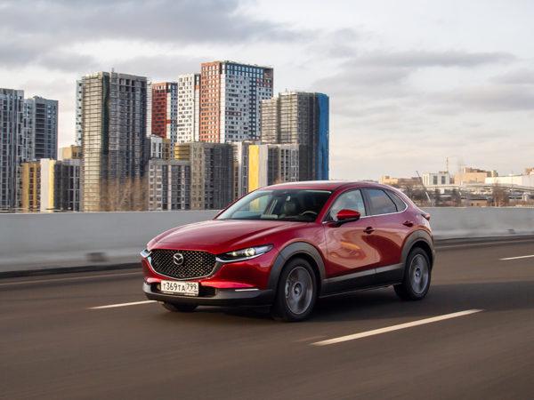Mazda-CX-30: маленькая внешне, но максимально «взрослая» внутри