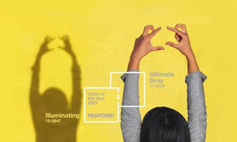 Сила и позитив: главные цвета 2021 года по версии Pantone