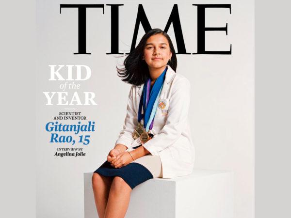 #PostaKidsClub. Журнал Time впервые выбрал «Ребенка года»: кто такая Гитанджали Рао