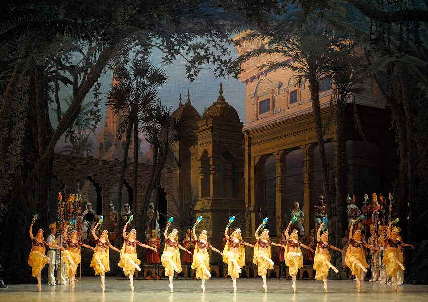 Балет «Баядерка» с Марией Хоревой