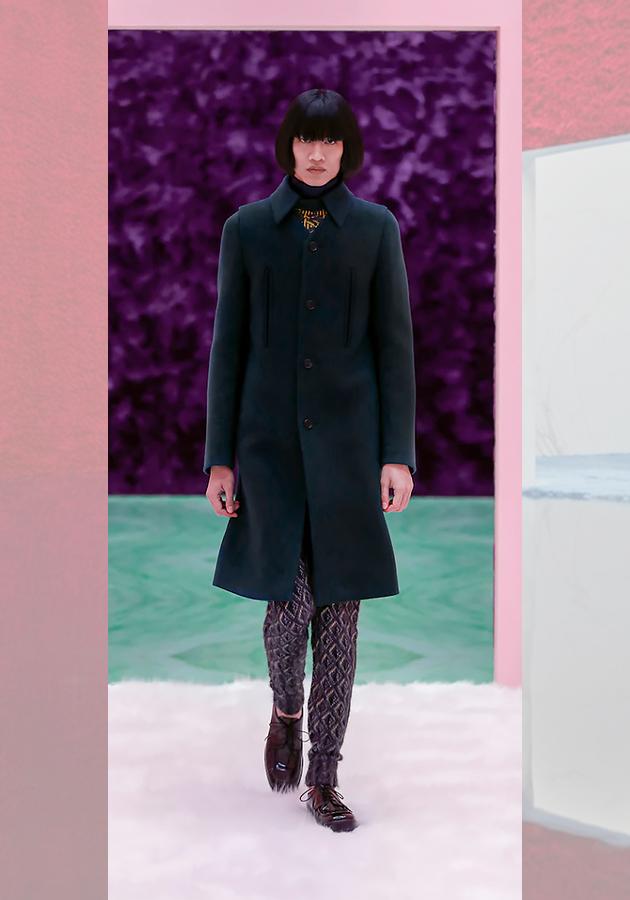 Men in Style: показ мужской коллекции Prada осень-зима 2021