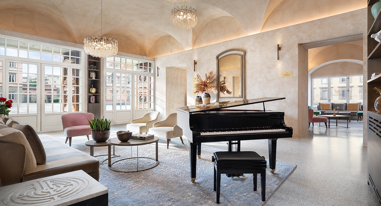 Италия, Лукка: бутик-отель Grand Universe Lucca