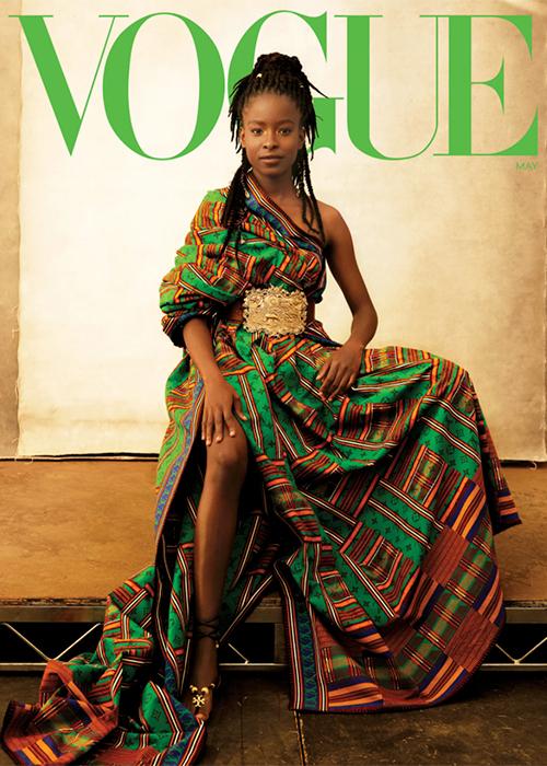 Аманда Горман, темнокожая активистка и поэтесса — теперь на обложке Vogue