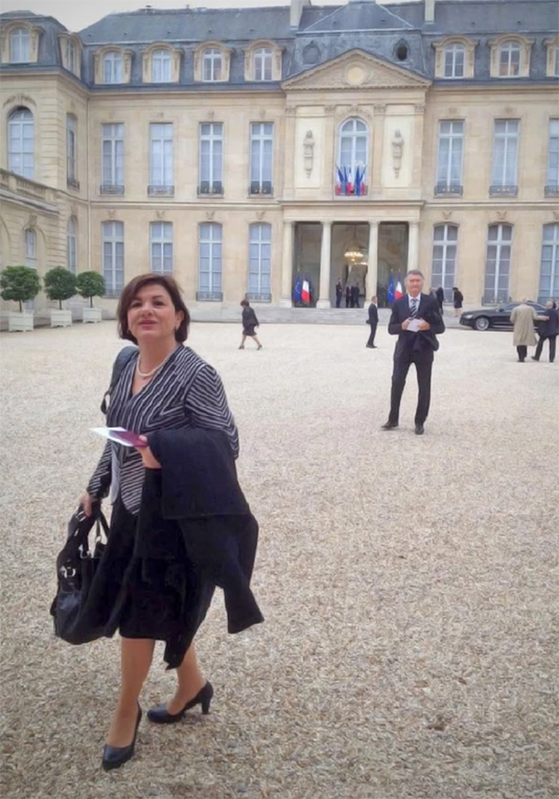 Деспина Хатзивасилиу-Цовилис — первая женщина на посту генерального секретаря ПАСЕ