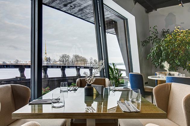 Новый ресторан: «Речной», Санкт-Петербург