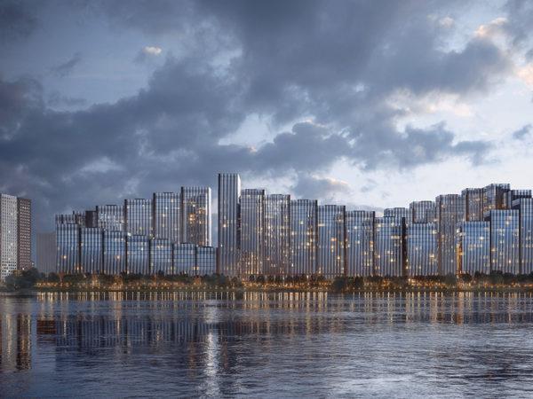 «Ияпредпочитаю воду»: ЖК«Береговой»— идеальные квартиры наберегу реки
