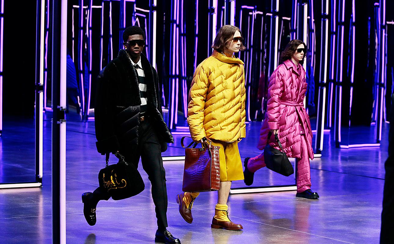 Men in Style: показ мужской коллекции Fendi осень-зима 2021