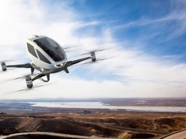 Город: к 2025 году в России планируют запустить летающее такси