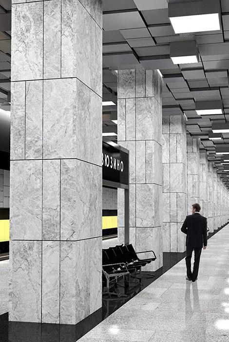 Город: в Москве за год откроют 11 станций Большой кольцевой линии метро