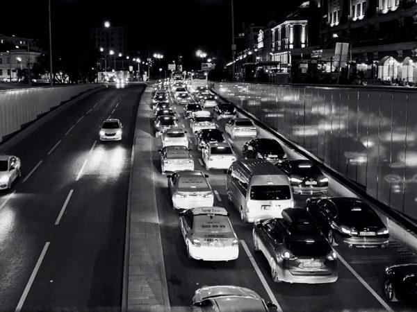 Город: Москву признали самым пробочным мегаполисом мира