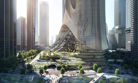 Бюро Захи Хадид построит два супернебоскреба в Шэньчжэне