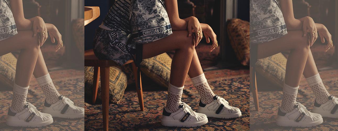 Style Notes: новые сникерсы Dior-ID