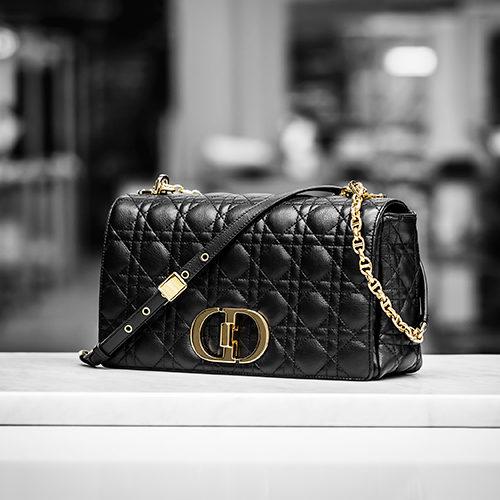 Style Notes: новинка Dior — сумка Caro bag, названная в честь сестры Кристиана Диора