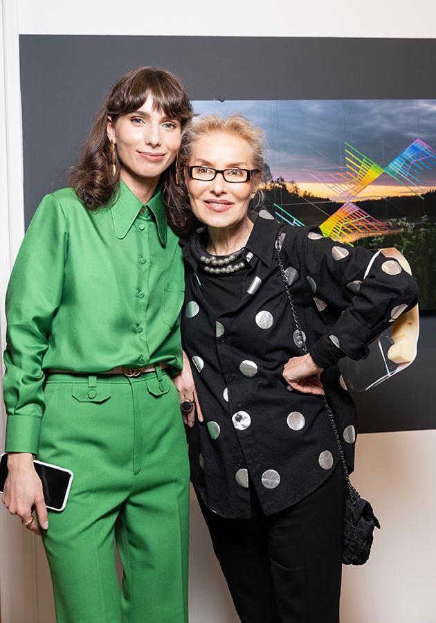 Алина Пинская и Ольга Свиблова