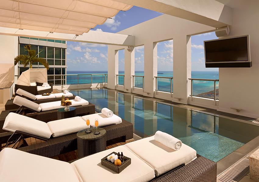 14 февраля: The Setai, Miami Beach — ужин, бранч и джазовые импровизации
