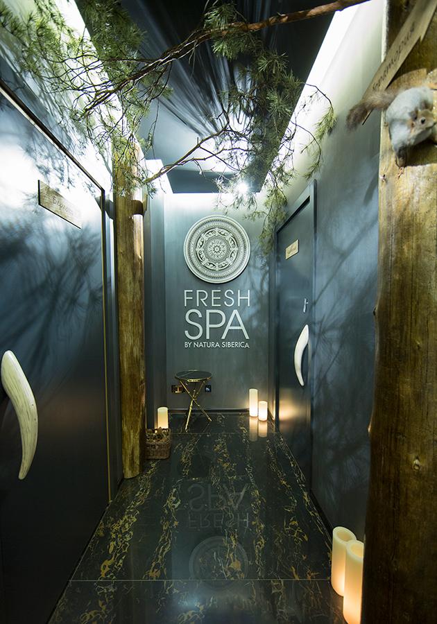 Fresh Spa by Natura Siberica: авторская можжевеловая баня «Трава шамана»