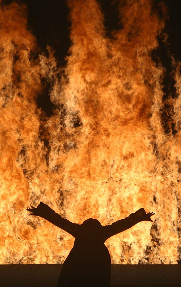 Билл Виола. Огненная женщина. 2005
