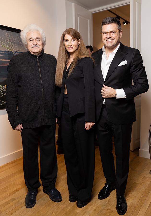 Франциско Инфанте, Константин и Ольга Андрикопулос