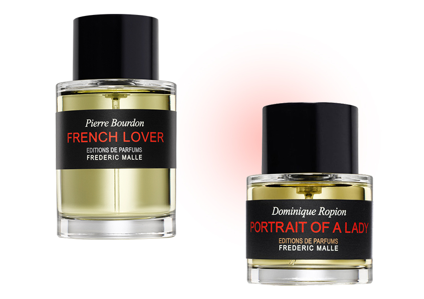 Frederic Malle Portrait of Lady и French Lover