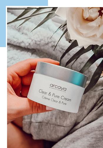 Новый крем Clear & Pure Cream, Arcaya