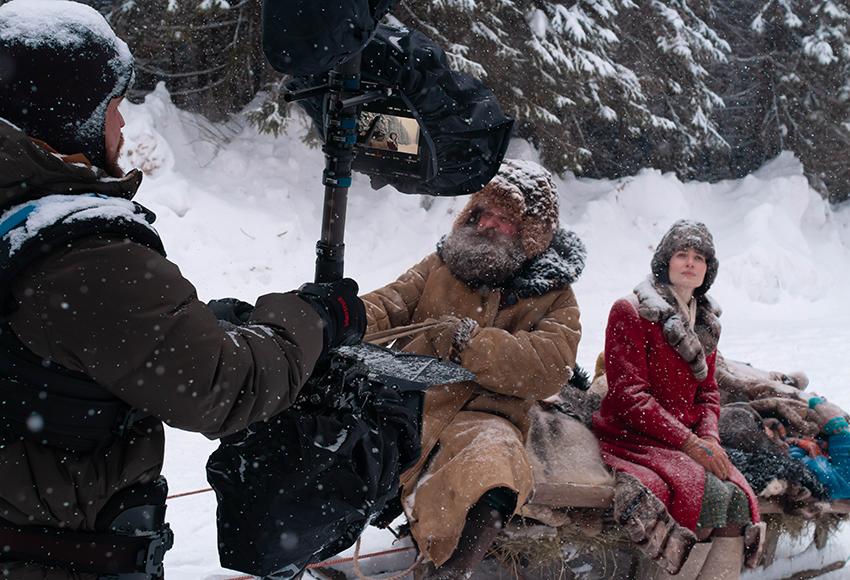 Юлия Снигирь и Владимир Вдовиченков снимутся в картине Александра Котта «Чук и Гек»