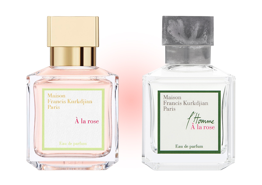 Maison Francis Kurkdjian A La Rose и L'Homme À la Rose