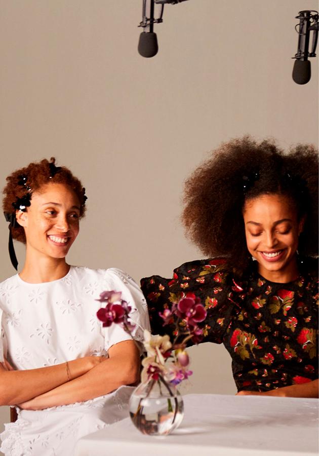 Style Notes: лукбук совместной коллекции H&M и Симон Роша