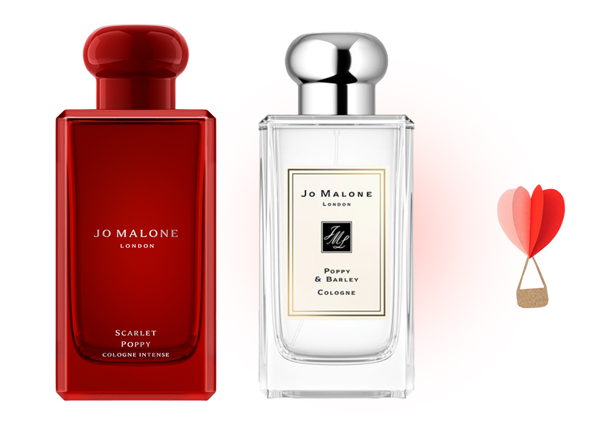 Jo Malone London Scarlet Poppy и Poppy & Barley