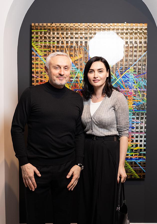 Дмитрий Пинский с дочерью Еленой Вакуленко