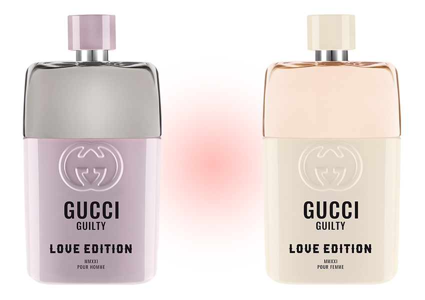 Gucci Guilty Love Edition for Her и for Him