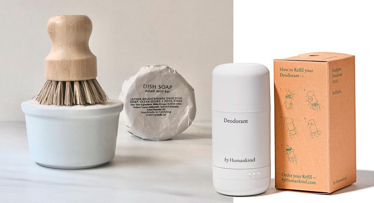 Рефилы или повторное использование упаковки, а также так называемые «голые» продукты — naked products, которые можно выбирать в магазине и складывать в ранее купленную упаковку