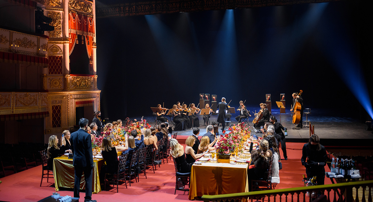 Гала-ужин Bvlgari в Александринском театре