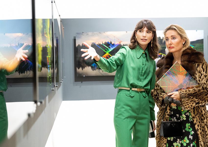 открытие выставки «Артефактов» Франциско Инфанте и Нонны Горюновой