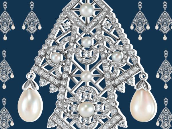 Ювелирный дом Axenoff передал украшения в дар Фонду драгоценных металлов Исторического музея