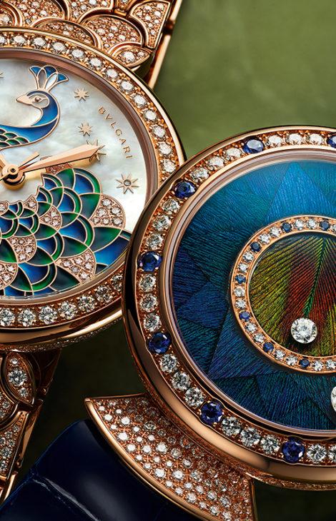 Часы & Караты: выставка новинок и раритетов Bvlgari в бутике бренда