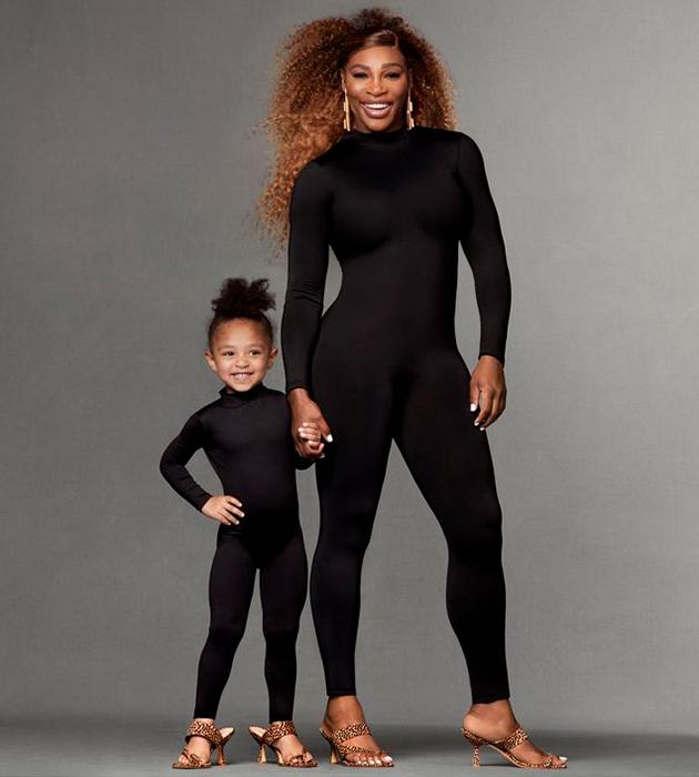 Серена Уильямс с дочерью Алексис Олимпией