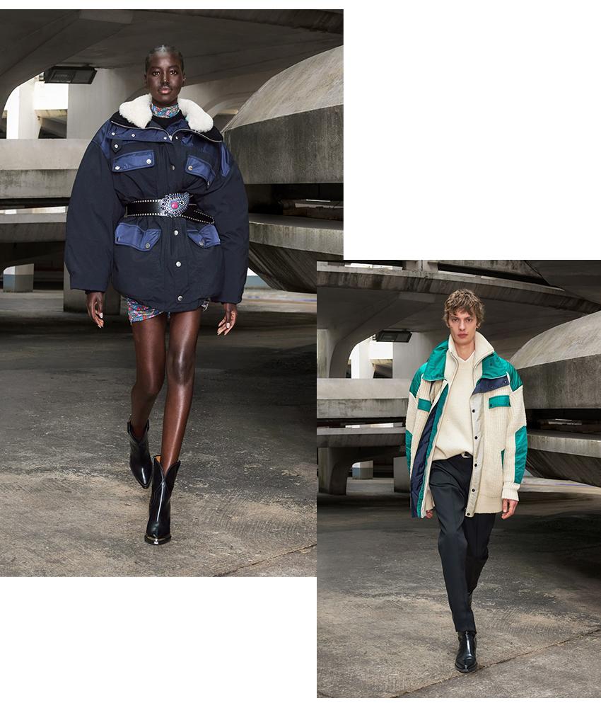 Fashion-футуризм в новой коллекции Isabel Marant