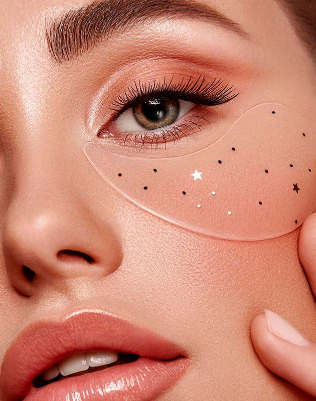 Увлажняющие сияющие патчи для глаз Shooting Star Crystal Eye Gel Patch, Gaston
